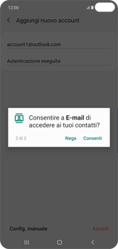 Samsung Galaxy S10 Plus - E-mail - 032c. Email wizard - Outlook - Fase 12