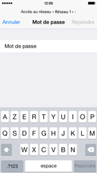 Apple iPhone 5s - iOS 8 - WiFi - Configuration du WiFi - Étape 8