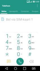 LG K4 2017 - voicemail - handmatig instellen - stap 3