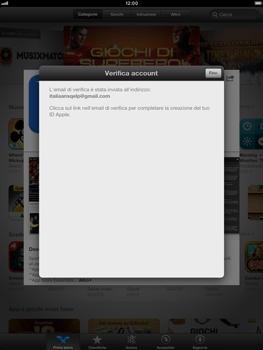 Apple iPad mini - Applicazioni - Configurazione del negozio applicazioni - Fase 23