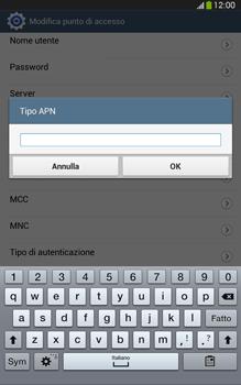 Samsung Galaxy Tab 3 8-0 LTE - Internet e roaming dati - Configurazione manuale - Fase 14