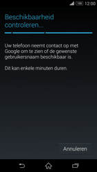 Sony Xperia Z3 Compact - apps - account instellen - stap 9