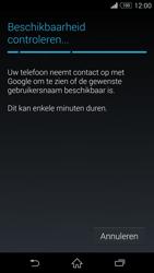Sony D5803 Xperia Z3 Compact - Applicaties - Account aanmaken - Stap 9