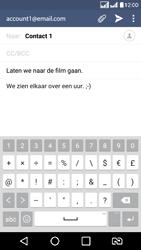LG K8 - E-mail - e-mail versturen - Stap 9