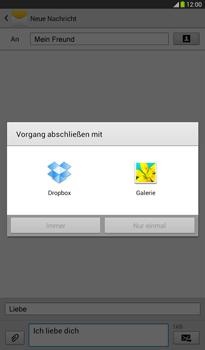 Samsung Galaxy Tab 3 7-0 - MMS - Erstellen und senden - 1 / 1