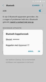 Samsung Galaxy J4 - Bluetooth - headset, carkit verbinding - Stap 8