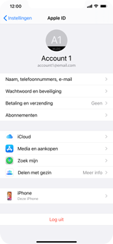 Apple iPhone 12 - toestel resetten - back-up maken met jouw account - stap 11