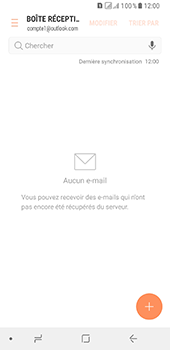 Samsung Galaxy A8 (2018) - E-mail - Configuration manuelle (outlook) - Étape 6