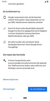 Google Pixel 3 - Apps - Konto anlegen und einrichten - 14 / 22