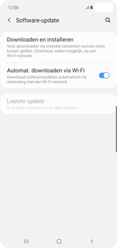 Samsung Galaxy S10 Plus - Toestel - Software update - Stap 6