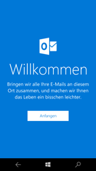 Microsoft Lumia 650 - E-Mail - Konto einrichten (outlook) - 1 / 1