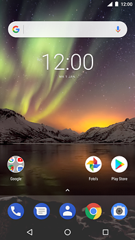 Nokia 6 (2018) - MMS - Afbeeldingen verzenden - Stap 1