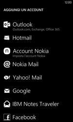 Nokia Lumia 1020 - E-mail - configurazione manuale - Fase 6