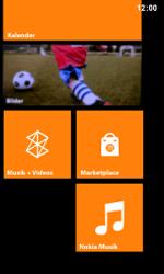 Nokia Lumia 800 / Lumia 900 - Startanleitung - Personalisieren der Startseite - Schritt 10