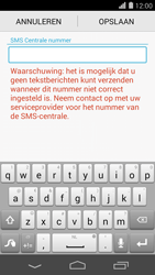 Huawei Ascend P7 - SMS - handmatig instellen - Stap 7