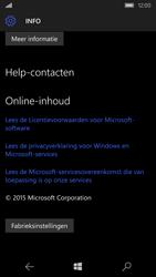 Microsoft Lumia 550 - toestel resetten - fabrieksinstellingen terugzetten - stap 5