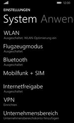 Nokia Lumia 635 - Internet - Manuelle Konfiguration - 0 / 0