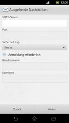 Sony Xperia T - E-Mail - Manuelle Konfiguration - Schritt 11