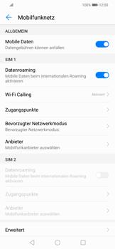 Huawei Mate 20 Lite - Ausland - Auslandskosten vermeiden - 7 / 8