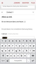 Samsung A510F Galaxy A5 (2016) - E-mail - envoyer un e-mail - Étape 17