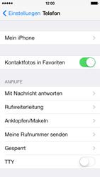 Apple iPhone 5c - Anrufe - Anrufe blockieren - Schritt 4
