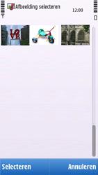 Nokia C6-00 - SMS - handmatig instellen - Stap 13