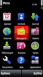 Nokia 5800 Xpress Music - MMS - envoi d'images - Étape 2