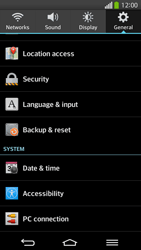 LG D955 G Flex - Mobile phone - Resetting to factory settings - Step 5