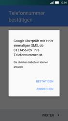 Huawei Y5 - Apps - Einrichten des App Stores - Schritt 8