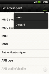 HTC A320e Desire C - Internet - Manual configuration - Step 13