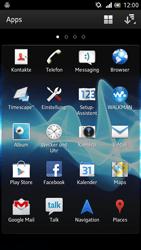 Sony Xperia S - WiFi - WiFi-Konfiguration - Schritt 3