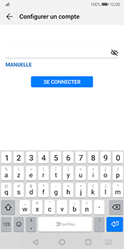 Huawei Mate 10 Pro - Android Pie - E-mail - configuration manuelle - Étape 6