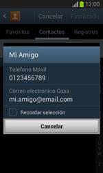 Samsung i8260 Galaxy Core - Mensajería - Escribir y enviar un mensaje multimedia - Paso 7