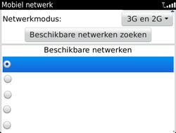BlackBerry 9900 Bold Touch - Netwerk - Handmatig netwerk selecteren - Stap 11
