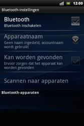 Sony Ericsson Xperia Mini Pro - Bluetooth - headset, carkit verbinding - Stap 6