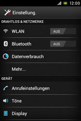 Sony Xperia Miro - MMS - Manuelle Konfiguration - Schritt 4