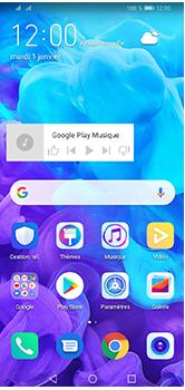 Huawei Y5 (2019) - Applications - Personnaliser l