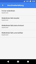 Sony Xperia XZ1 Compact - Anrufe - Rufumleitungen setzen und löschen - 9 / 12