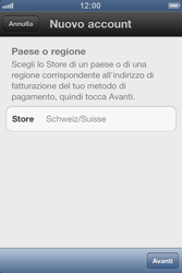 Apple iPhone 3GS - Applicazioni - Configurazione del negozio applicazioni - Fase 5