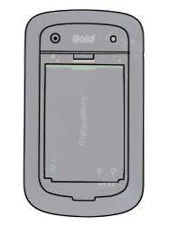 BlackBerry 9900 Bold Touch - SIM-Karte - Einlegen - Schritt 5