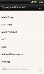 HTC One SV - Internet und Datenroaming - Manuelle Konfiguration - Schritt 13