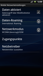 Sony Ericsson Xperia Arc S - Internet - Manuelle Konfiguration - 1 / 1