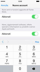 Apple iPhone 5c - iOS 8 - Applicazioni - Configurazione del negozio applicazioni - Fase 17