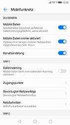 Huawei P8 Lite 2017 - Ausland - Auslandskosten vermeiden - Schritt 8