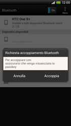 HTC One X Plus - Bluetooth - Collegamento dei dispositivi - Fase 8