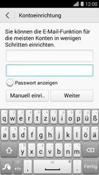 Huawei Ascend Y550 - E-Mail - Konto einrichten - Schritt 7