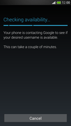 HTC One Mini - Applications - Setting up the application store - Step 9