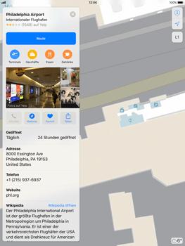 Apple iPad Pro 9.7 inch - iOS 11 - Indoor-Karten (Einkaufszentren/Flughäfen) - 10 / 12