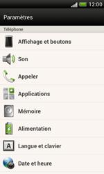 HTC T328e Desire X - Messagerie vocale - configuration manuelle - Étape 5