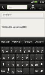 HTC C525u One SV - E-mail - e-mail versturen - Stap 4